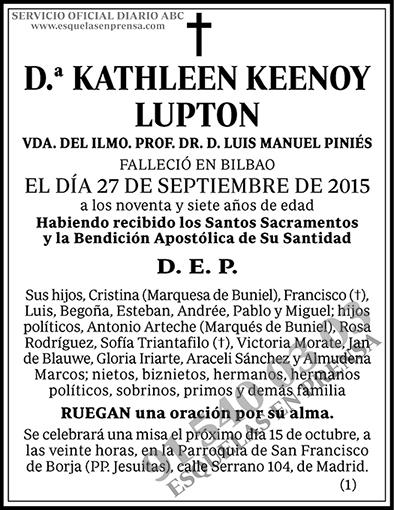 Kathleen Keenoy Lupton